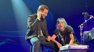 Lady Gaga with Bradley Cooper in Las Vegas (Live)