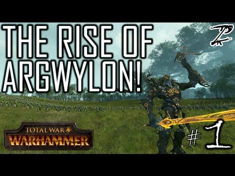 THE RISE OF ARGWYLON! - Argwylon #1 Total War: Warhammer Campaign