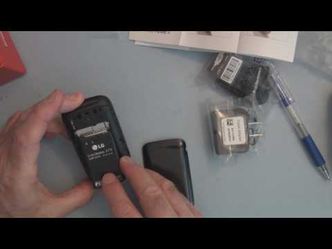 Verizon LG Revere 3 Flip Phone Unboxing