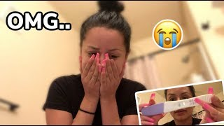 FINDING OUT IM PREGNANT 😭