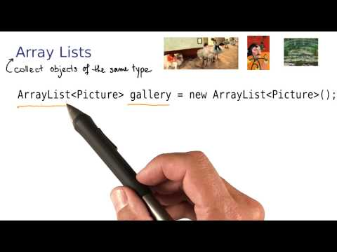 ArrayLists - Intro to Java Programming
