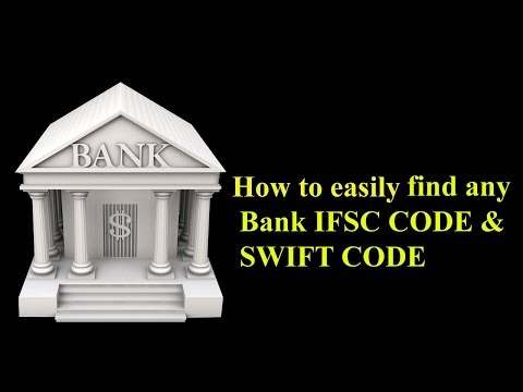 IFSC code and SWIFT code Easily find any Bank