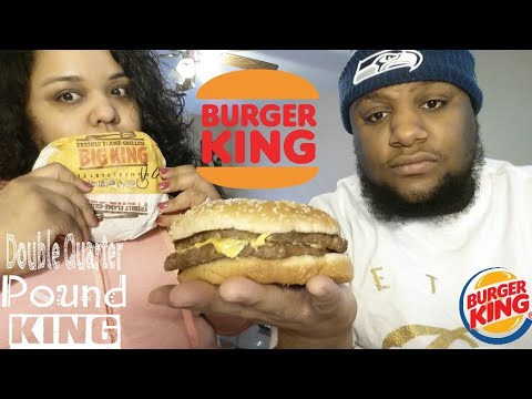Burger King Double Quarter Pounder King