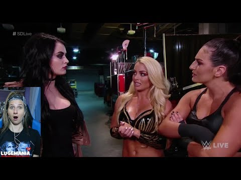 WWE Smackdown 5/29/18 Paige Backstage