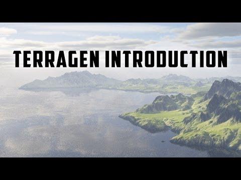Terragen Introduction - Rendering Maps