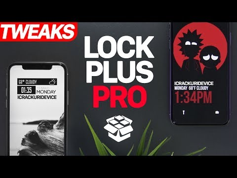 TOP iOS 11 Jailbreak Tweaks: Create EPIC Lockscreens!! (iOS 11 Cydia)