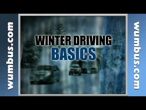 Winter Driving Safety Video