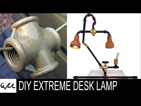 DIY Extreme desk lamp