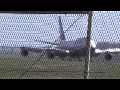 United 747 LAX SYD MEL 24OCT10 Boeing USA Landing Melbourne Australia Sydney Los Angeles