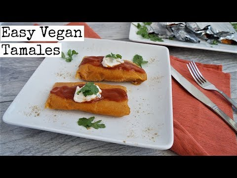 Easy Vegan Tamales