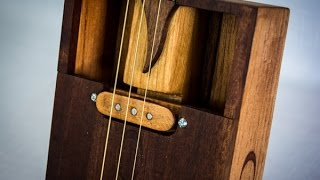 how to build a cigar box guitar single coil pickup