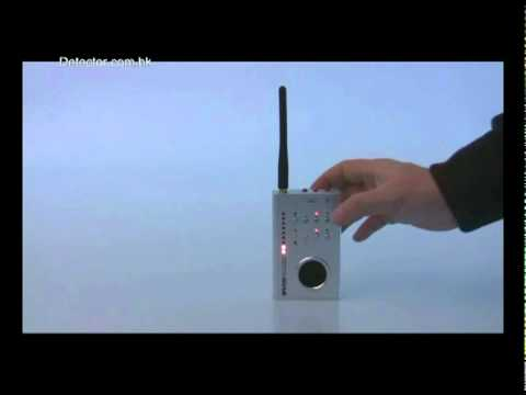 Wireless Detector MPD-0208 Radio Frequency Detector