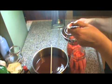 Pressure Canned Glazed Carrots Video # 1