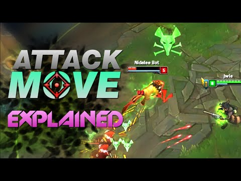 How to use ATTACK MOVE without clicking [CUSTOM GAME EXPLAINED]