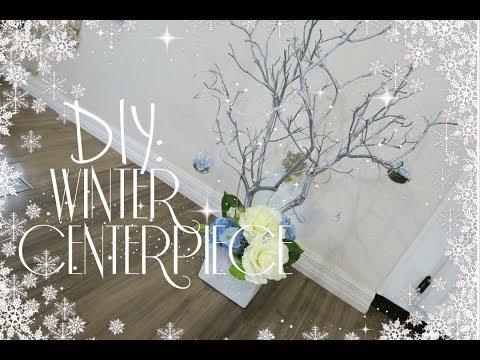 DIY Wedding: Winter Centerpiece