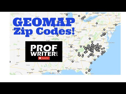 Geomapping zip codes on Google My Maps