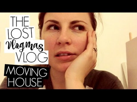 MOVING HOUSE / THE LOST VLOGMAS VLOG