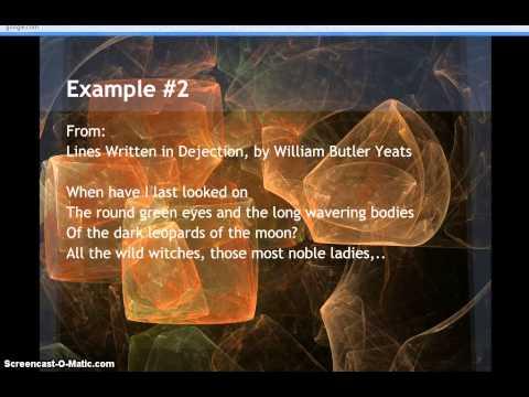 Examples of Slant Rhyme in Poetry