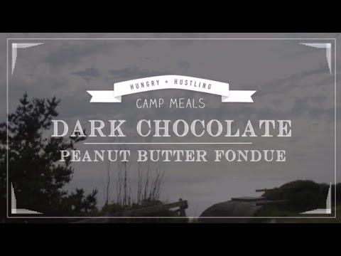 Dark Chocolate Peanut Fondue