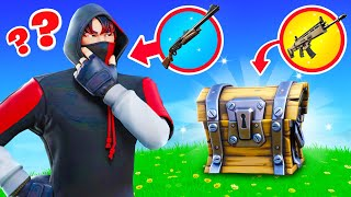 Fortnite BUT I need to guess the loot to use it!