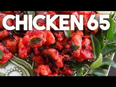 😛  CHICKEN 65 | Spicy Chicken Nuggets - BAR snack | Kravings