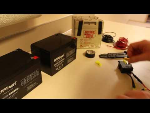 How to do a 12v to 24v Power Wheels Conversion
