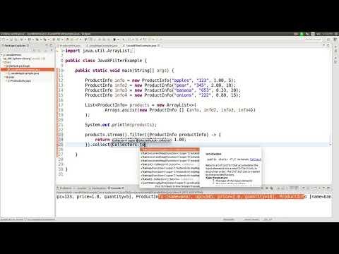 Java 8 streams filter function tutorial