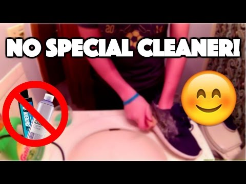 How To Clean Shoes With Household Items