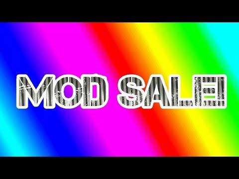 Mod Sale!