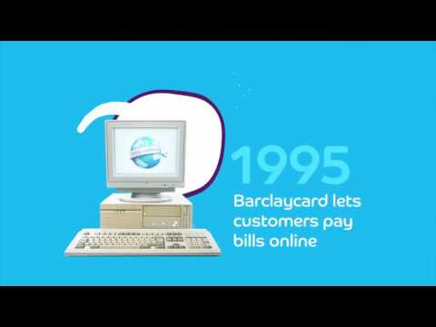 Barclaycard marks 50 years of the credit card in the UK - Animated Infographic