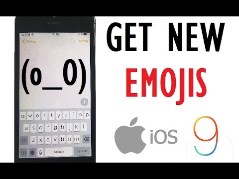 iOS 9 Tips and Tricks - Get new emojis