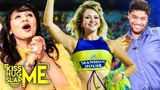Hot🔥 Glamour Dance! CSK Cheer Girl - Nikki's New Avatar |  Kiss Me😘 Hug Me🤗 Slap Me👋 with Eden | KHS
