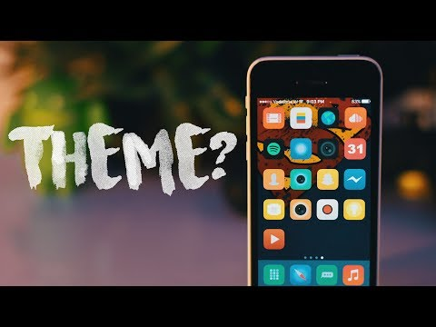 How to Customize your iPhone without Jailbreak! New THEME? 🔥
