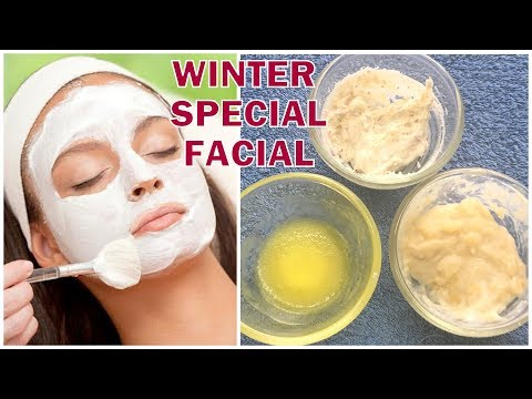 Winter facial At Home | Get Fair,bright,glowing skin,Spotless Skin in Winters