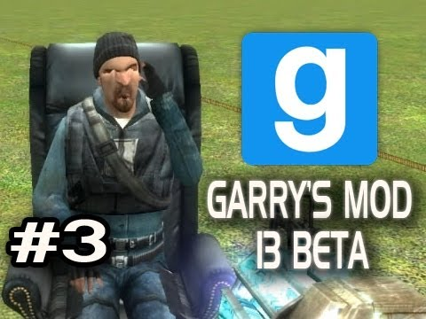 Garry's Mod 13 Beta w/Nova & Sp00n Ep.3 - CHAIR AND TRUCK LAUNCHING