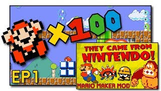 Super Mario Maker Mod - They Came From Nintendo! Videos & Books