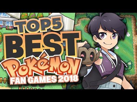 Top 5 Best Pokemon Fan Games of 2018