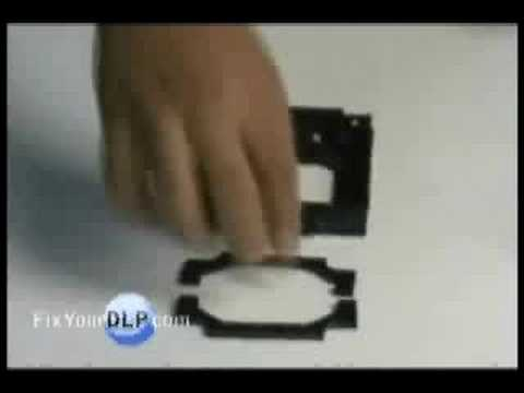 Hitachi UX21513 Lamp Replacement Video/Guide