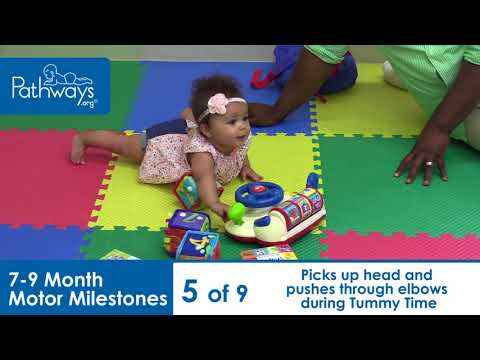 7 to 9 Month Baby Motor Milestones to Look For