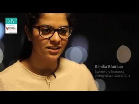 International Work Placement - Kanika Khurana, ISBF Undergraduate Class of 2011