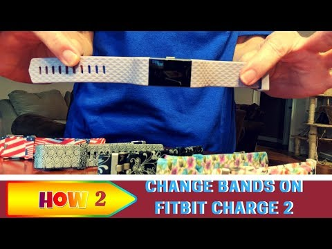 How To Change Fitbit Charge 2 Bands
