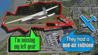 [real Atc] Two Cessnas Collided Midair North Of Anchorage!