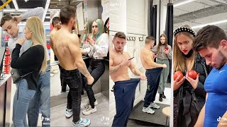 PRANK GONE WRONG | Viral Body Builder Shmeksss Public Prank Tiktoks | Funny Prank Videos