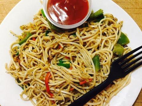 Egg Hakka Noodles | Egg Noodles Recipe | Fast Food | Easy Cooking