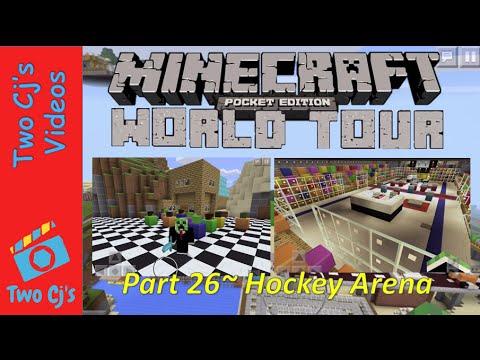 Awesome Minecraft PE World Tour - Hockey Arena [26]