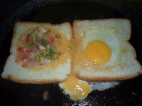 Bread omelette Sandwich -AAnma's Kitchen