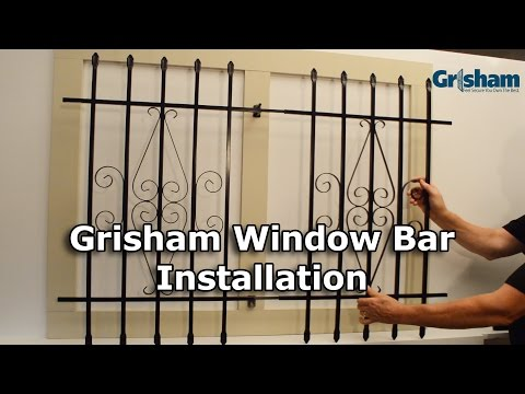 Grisham Window Bars Installation Tutorial