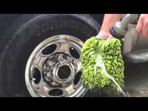 Washing the car with Norwex and water ONLY