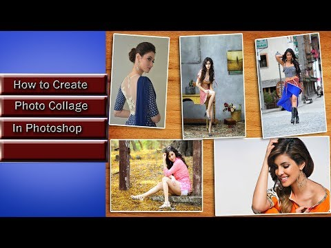 How to Create Photo Collage in Photoshop