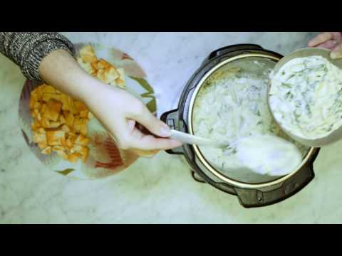 5-Minute Spinach Artichoke Dip: Easy holiday appetizer recipe for your Instant Pot!